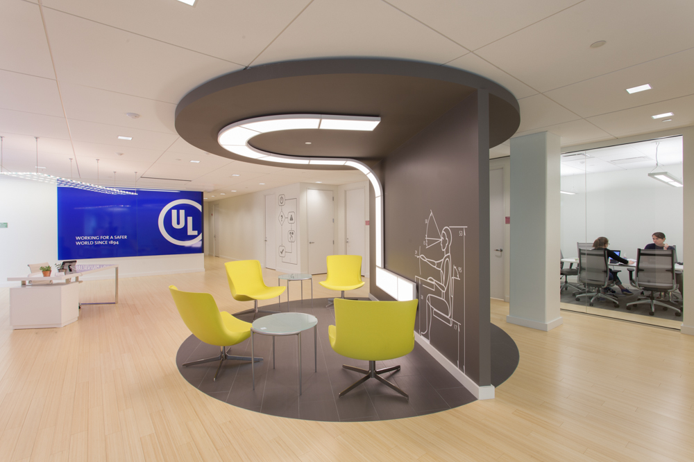 Brand Matters: 5 Ways We Branded the New UL Office Lobby