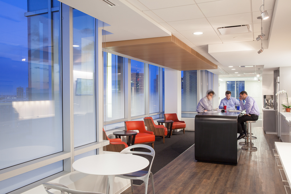 4 design fundamentals that lead to office wellbeing for Office design wellbeing