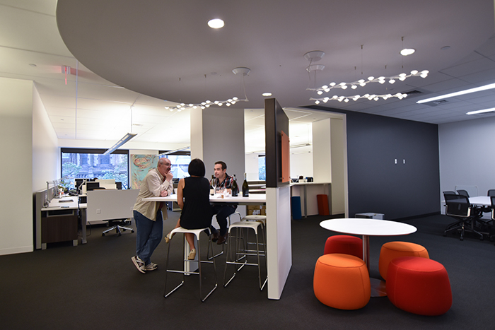 Our new design at VCA allows for many ways to collaborate to adapt to our ever-changing team projects