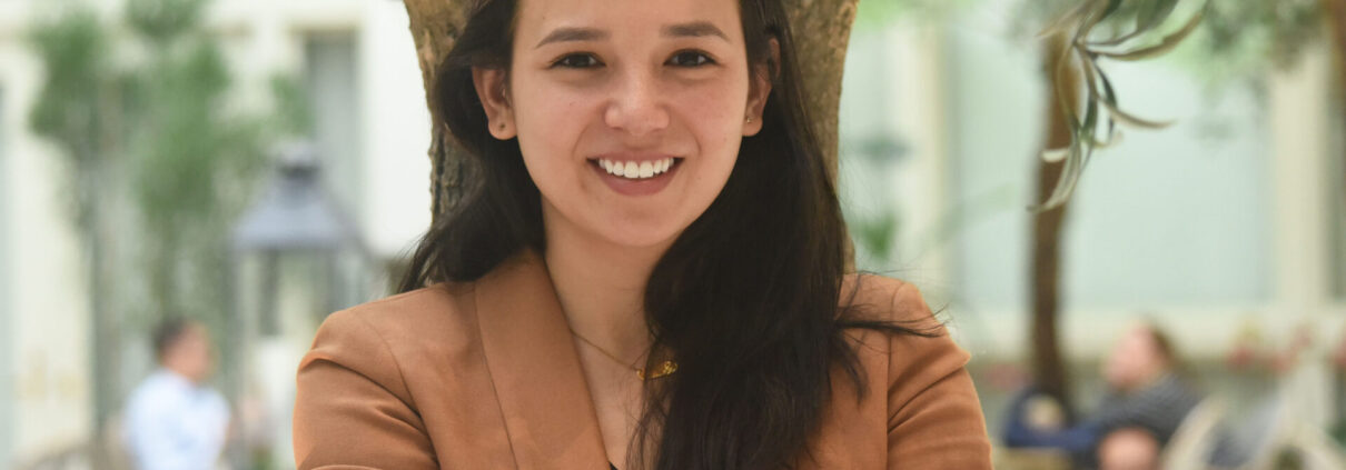 photo of Cora smiling